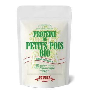 Proteine di piselli in polvere