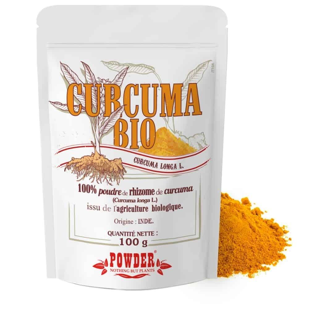 Curcuma bio in polvere