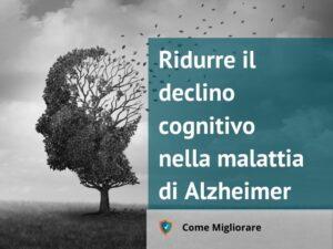 Ridurre il declino cognitivo nella malattia di Alzheimer