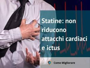 Statine: non riducono attacchi cardiaci e ictus