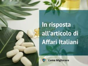In risposta all'articolo di Affari Italiani