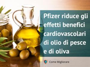 Pfizer inganna sui benefici di olio di pesce e di oliva 2 -