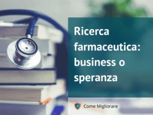 Video Prof. Ermanno Leo Ricerca farmaceutica business o speranza