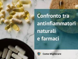 Confronto tra antinfiammatori naturali e farmaci 1 -